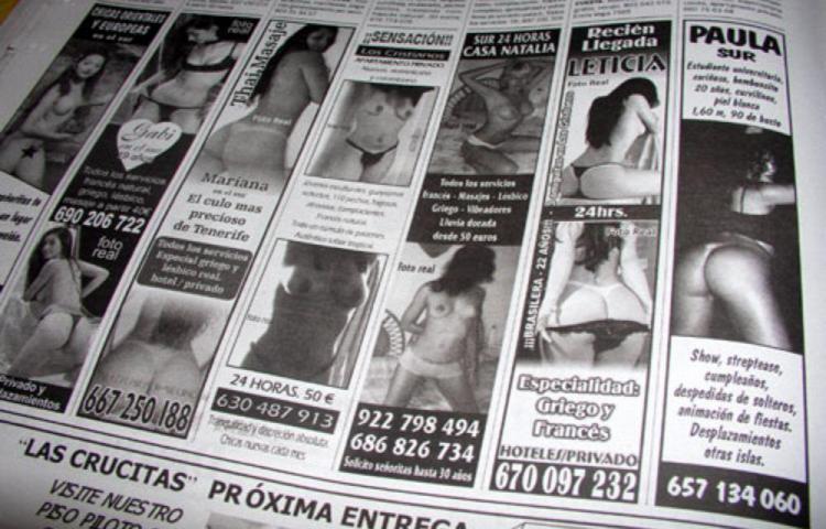 Aprueban Ley que regula contenido sexual en clasificados de medios impresos