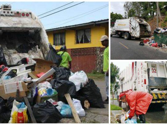 Recolección de la basura al borde  de una crisis por retrasos del IDAAN