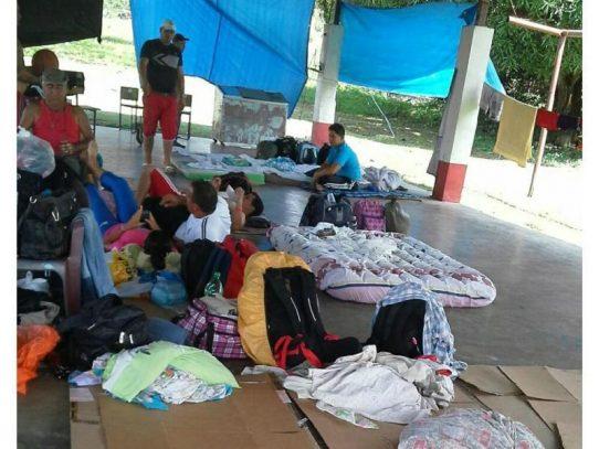Cubanos en albergue de Gualaca quieren asilo en Panamá