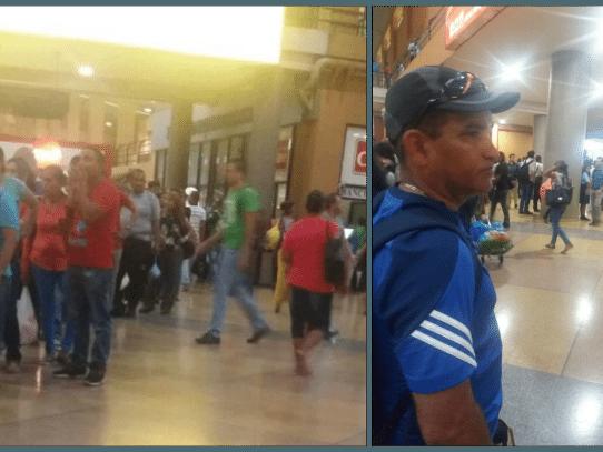"""Pelea en Terminal de Albrook por """"juega vivo"""" en filas"""