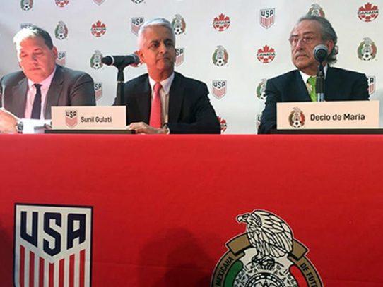 Estados Unidos, México y Canadá aspiran a ser la sede conjunta del Mundial Fifa 2026