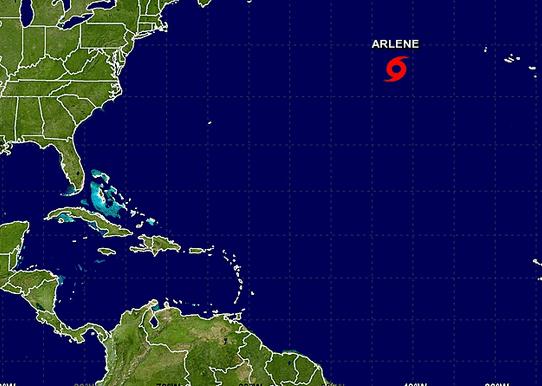 La primera tormenta tropical del Atlántico se forma dos meses antes de lo esperado