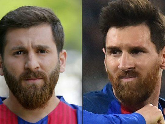 El furor por el doble iraní de Leo Messi termina en detención