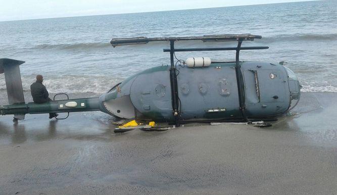 Aeronave del SENAN sufre accidente en sector de Punta Chame