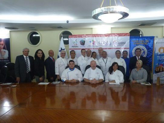El Club Gastronómico de Panamá listo para el IV Congreso Gastronómico Internacional.
