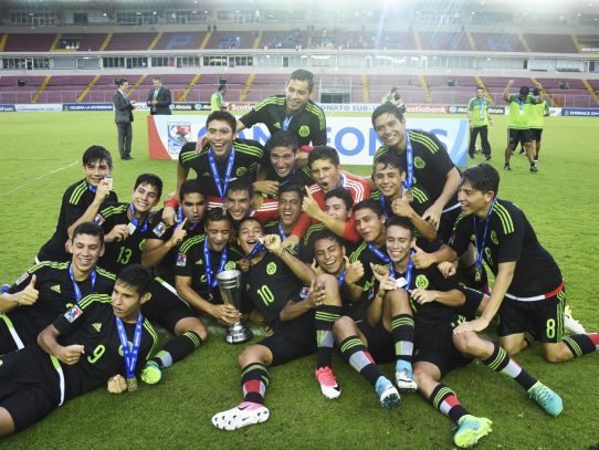 México gana a EEUU en la final del premundial sub-17 de Concacaf
