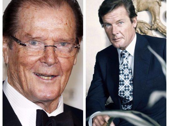 Muere  el incónico actor británico Roger Moore