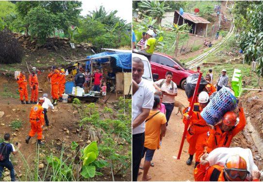 Gobierno concluye operación humanitaria en Cerro Galera
