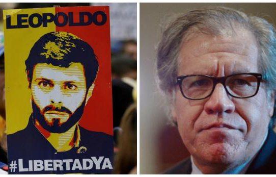 """Almagro """"exige"""" visitar a Leopoldo López tras rumores sobre su muerte"""