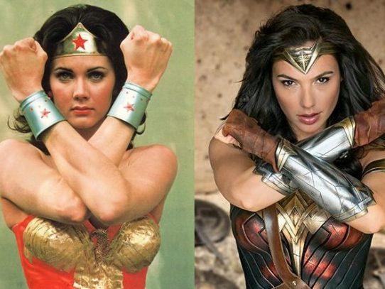 ¿Que Mujer Maravilla es más bella, Lynda Carter o Gal Gadot?
