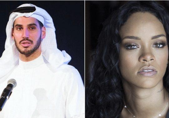Filtran imágenes de Rihanna besándose con un millonario saudí en una piscina