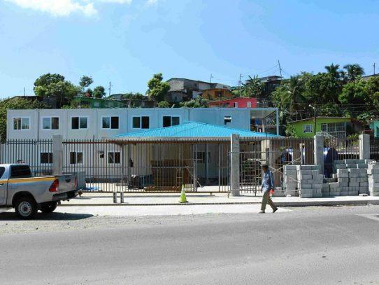 Avanza la construcción de la Policía Comunitaria de Samaria