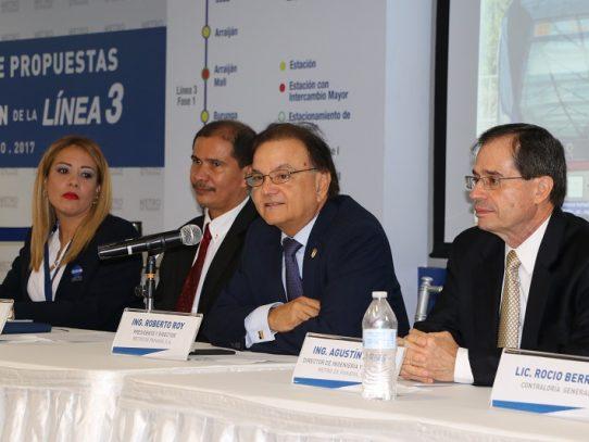 9 Consorcios interesados en la construcción de la Línea 3 del Metro