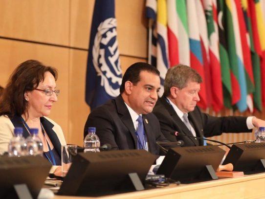 Ministro Carles, preside 106 Conferencia de la OIT
