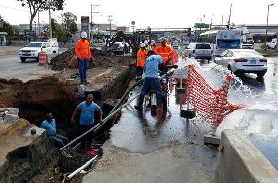 Vía Tocumen y Juan Díaz sin agua este miércoles