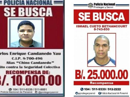 """Carlos """"Chino"""" Candanedo e Ismael Cueto capturados en Colombia"""