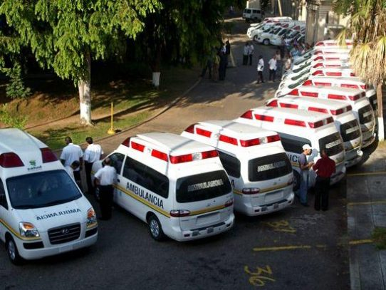 CSS hará en agosto acto público para la compra de 55 ambulancias