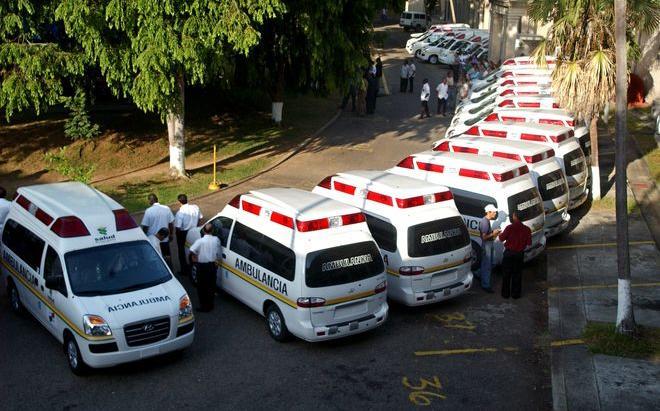 Minsa adquirirá 71 ambulancias a un costo de 10.1 millones de dolares