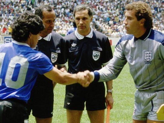 Muere Dochev uno de los árbitros que no vio la 'mano de Dios' de Maradona