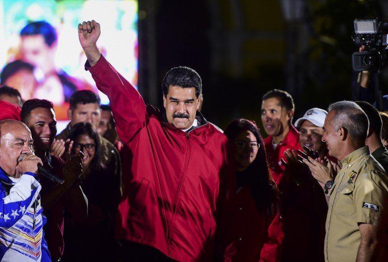 EEUU sanciona a Maduro por ruptura del orden constitucional en Venezuela