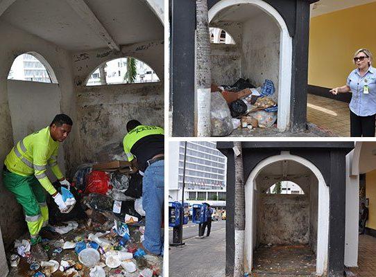 Sancionan a 44 empresas por mala disposición de la basura