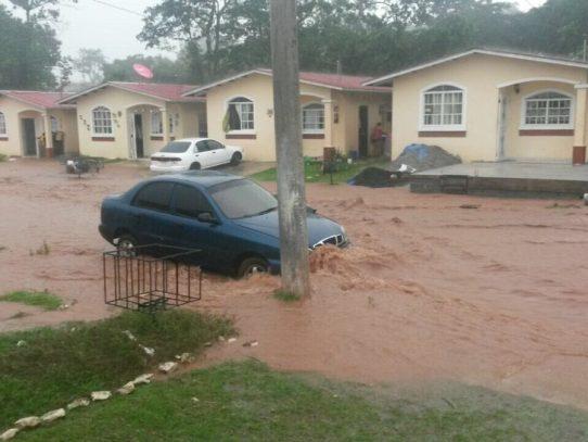 Lluvias provocan afectaciones en 187 viviendas informa Sinaproc