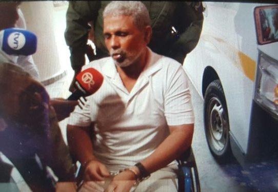 Rafael Guardia retorna al hospital Santo Tomás aquejado de dolores lumbares