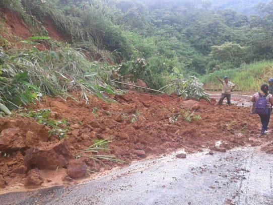 Afectaciones por mal tiempo en Azuero y áreas comarcales