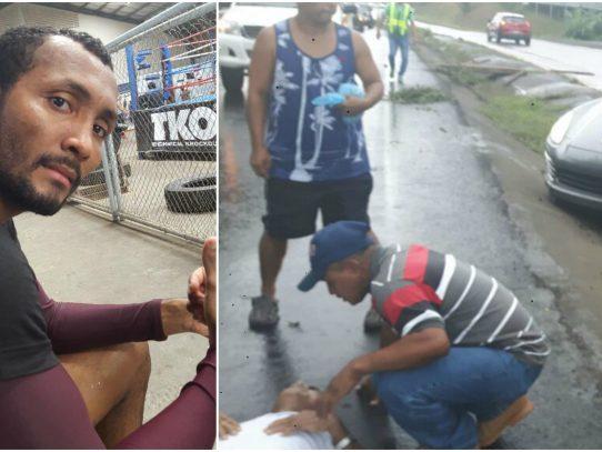 """""""Chemito"""" Moreno atropella a un adulto mayor en Capira"""
