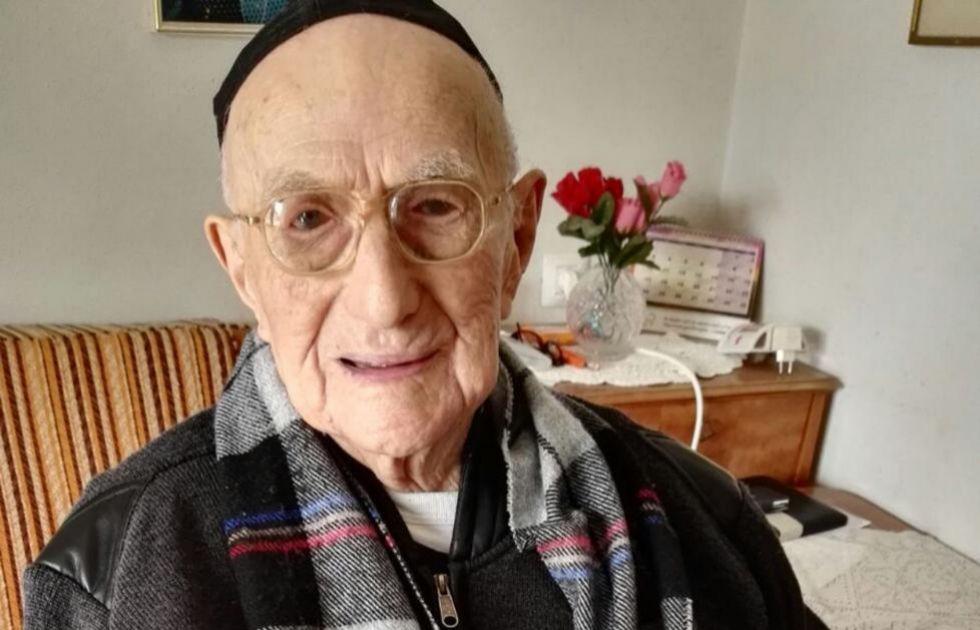 Murió en Israel el hombre más viejo del mundo a los 113 años