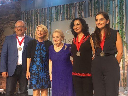 Fundación Voluntarios de Panamá recibe reconocimiento internacional por promover cambios sociales