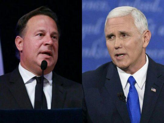 Estado da a conocer agenda para la visita del Vicepresidente de los EE.UU, Pence