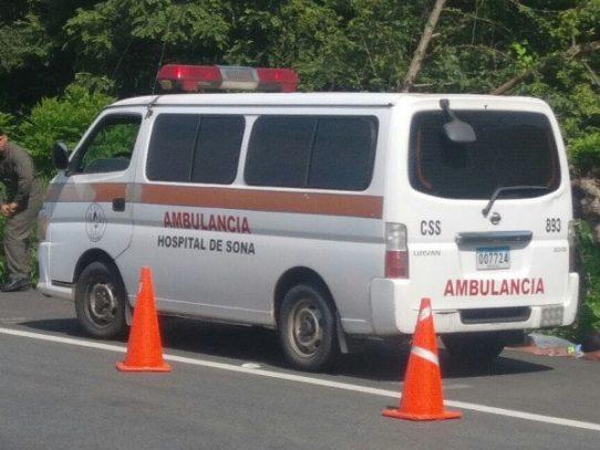 Detienen a tres sujetos por transportar presunta droga en ambulancia de la CSS