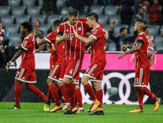 Bayern, Liverpool y City cumplen como favoritos, el Real Madrid evita otra derrota
