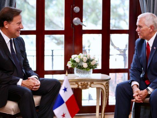 Seguridad, migración y economía algunos temas abordados en reunión de Varela-Pence