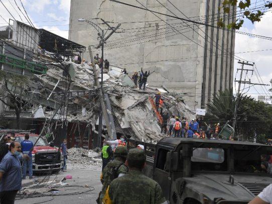 Confirman a una panameña entre las víctimas del sismo en México