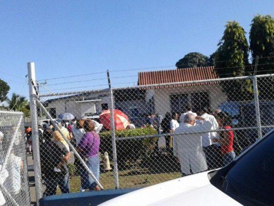 Evacúan policlínica de Bugaba por alerta de material explosivo