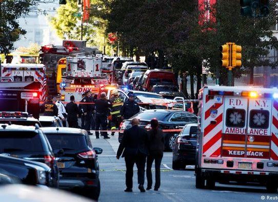 """Ocho muertos en Nueva York en """"acto terrorista"""""""