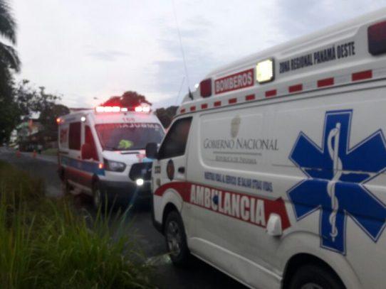 Vuelco en La Chorrera deja tres escolares y un adulto heridos