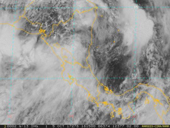 Sinaproc mantiene aviso de prevención de lluvias y tormentas hasta las 7:00 p.m.