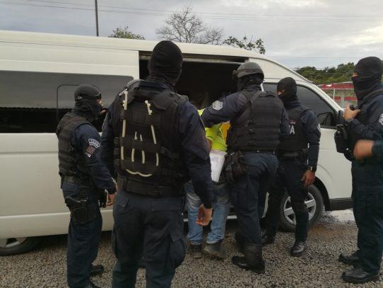 Ocho personas aprehendidas en operativo antipandilla en Panamá Oeste