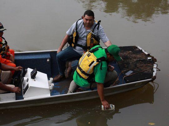 Minsa a la espera de resultados tras hallazgo de mancha blanca en Río Parita