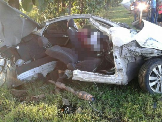 Trágico accidente en Natá deja un muerto y una persona herida