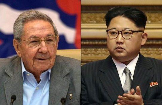 Kim Jong-Un envía condolencias a Raúl Castro por aniversario de muerte de Fidel