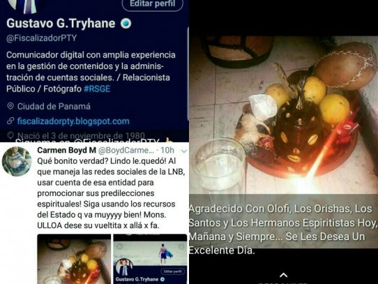 Denuncian presunto uso de redes sociales de la Lotería Nacional para promover santería