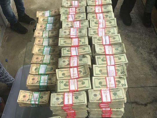 Decomisan más de 1 millón de dolares y desmantelan red criminal