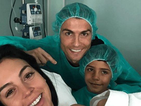 Cristiano Ronaldo celebra en redes sociales nacimiento de su hija Alana Martina