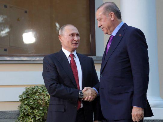 Putin viajará a Turquía el lunes para hablar de Jerusalén y Siria