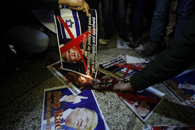 """La UE expresa su """"seria preocupación"""" por decisión de Trump sobre Jerusalén"""