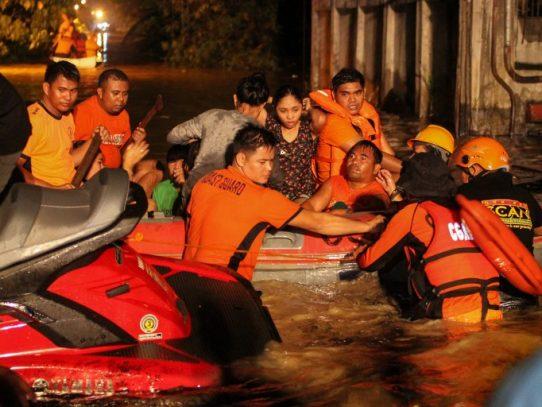 Tormenta tropical en el sur de Filipinas deja al menos 133 muertos